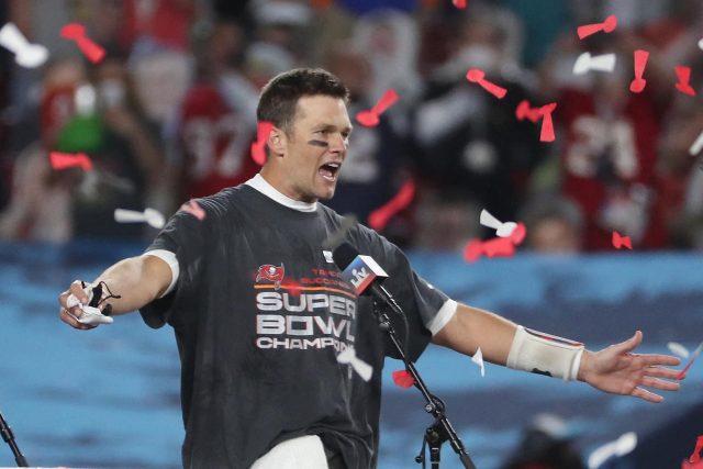 Tom Brady vyhrál po sedmé Super Bowl
