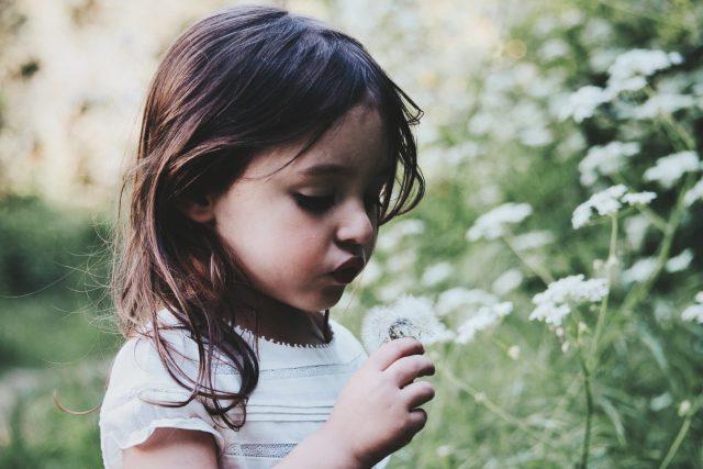 dítě - holčička