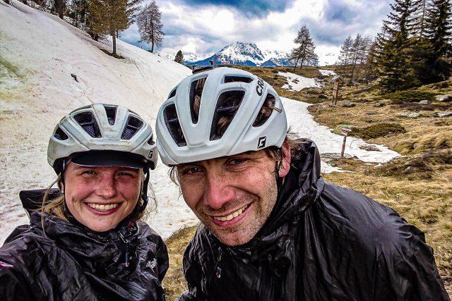 Peggy Marvanová a Pavel Paloncý během výzvy Korona Himálaje