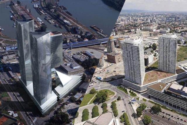 Porovnání architektonických vizualizací a reality