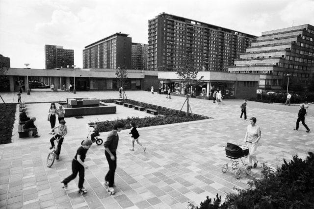 Sídliště Ďáblice  | foto: tiskový servis Sídliště Ďáblice. Architektura pro lidi