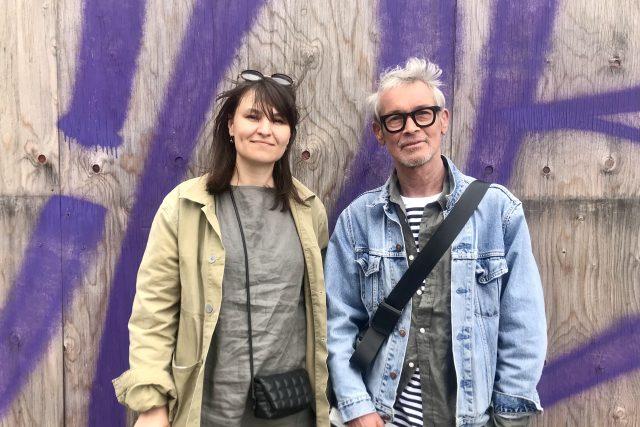 Alena Mičeková a Petr Stolín | foto: Karolína Vránková,  Český rozhlas,  Český rozhlas