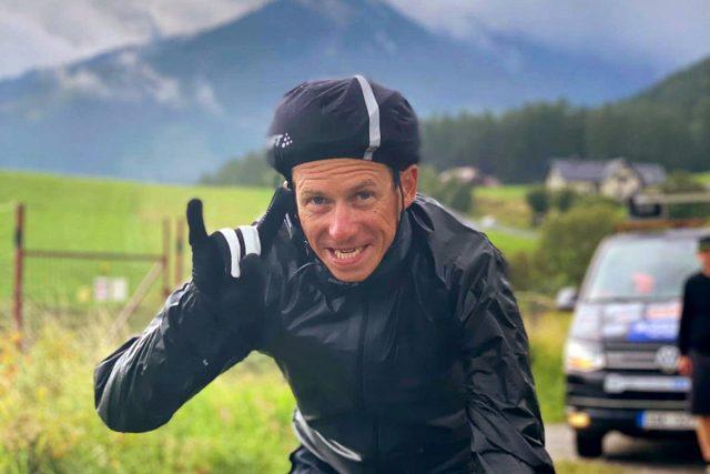 Dan Polman během závodu RACAS (Race Around Czechia and Slovakia)