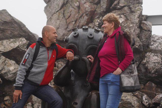 Radek Jaroš a Dina Štěrbová