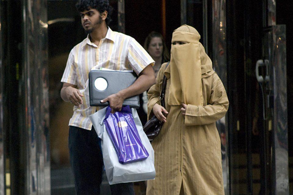 Saúdská žena