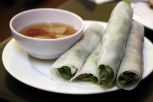 vietnamské závitky pho cuon