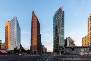 Postdamer Platz v Berlíně