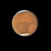 Mars v opozici. Snímek Hubbleova teleskopu z července 2018