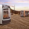 Diplomová práce Tomáše Chudila. URBI je autonomní tramvaj pro Prahu v roce 2030