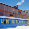 Sportovní centrum v Davosu postavené podle návrhu ateliéru Gigon/Guyer