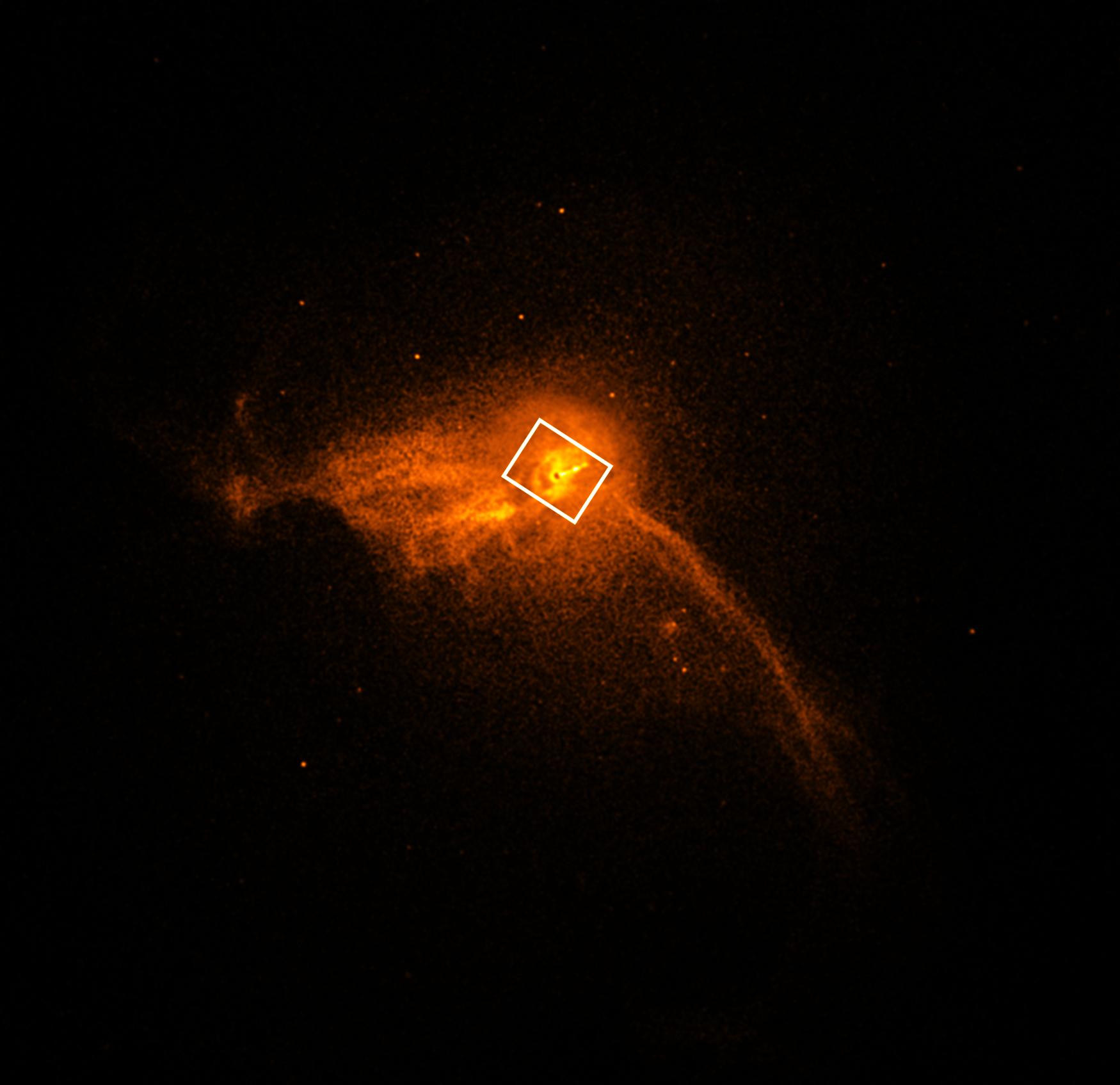 Černá díra, dosud známá spíše z ilustrací, je objekt, který kolem sebe křiví čas a prostor takovým způsobem, že z něj nemůže uniknout ani světlo
