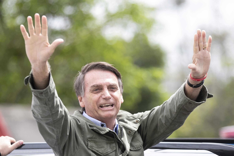 Jair Bolsonaro, vítěz prezidentských voleb v Brazílii